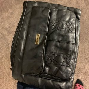black vans shoulder bag